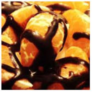 Chocolate Mandarin Dark Balsamic Vinegar, Case of 12 375mL Bottles