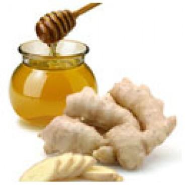 White Honey Ginger Balsamic Vinegar, 375 ml Bottle.