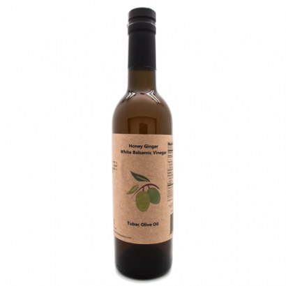 White Honey Ginger Balsamic Vinegar.
