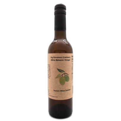 White Fig Cinnamon Cranberry Balsamic Vinegar