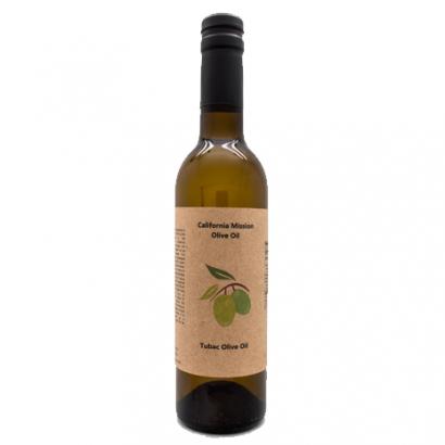 California Mission Olive Oil, 12 oz (375 ml) bottle.
